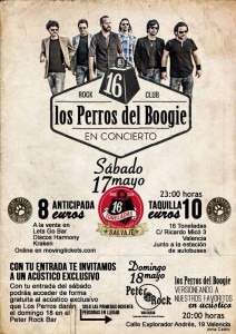 LPDB-Los Perros del Boogie-sex and skate and rock n roll- 16 toneladas