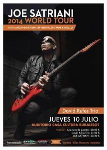 Joe satriani concierto en Valencia