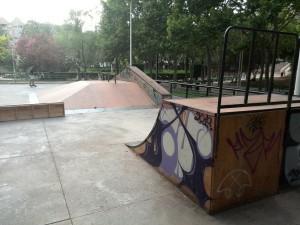 Skatepark Gandía - 1 Parc de Sant Pere- sex and skate and rocknroll, sexandskateandrocknroll.com