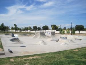 skatepark de Paterna en Valencia